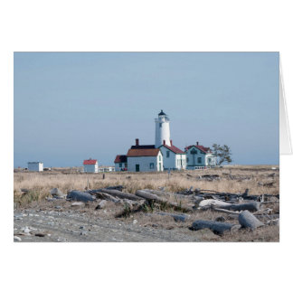 Dungeness Spit Lighthouse in Sequim, WA Card