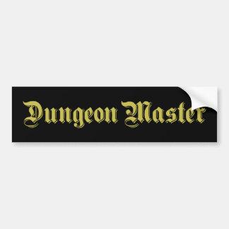 Dungeon Master Bumper Sticker