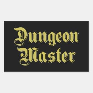 Dungeon Master Rectangular Sticker