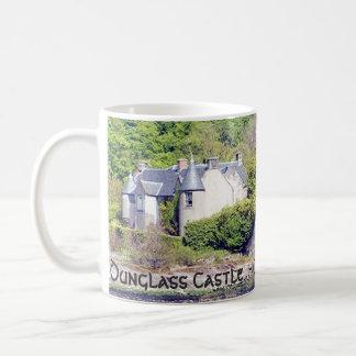 Dunglass Castle  – Clan Colquhoun/Calhoun Coffee Mug