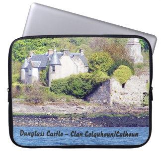 Dunglass Castle – Clan Colquhoun/Calhoun Laptop Sleeve