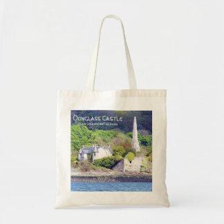 Dunglass Castle  – Clan Colquhoun/Calhoun Tote Bag