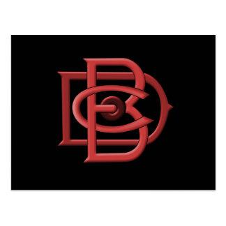 Dunham Bros Company DBC Logo Postcard