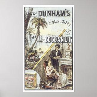 Dunhams Cocoanut Print