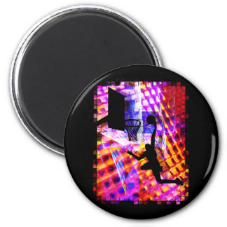Dunk in Electric Light Chaos Refrigerator Magnets