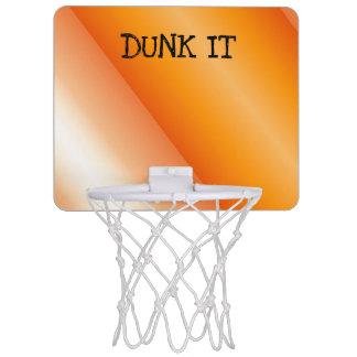Dunk It Orange Twist Mini Basketball Hoop