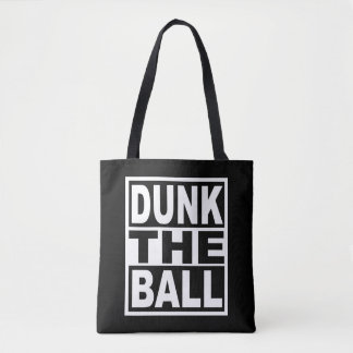 Dunk the Ball Tote Bag