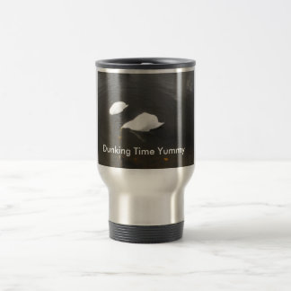 Dunking Time Yummy Stainless Steel Travel Mug