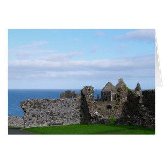 Dunluce Castle Card