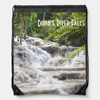 Dunn's River Falls photo Drawstring Bag