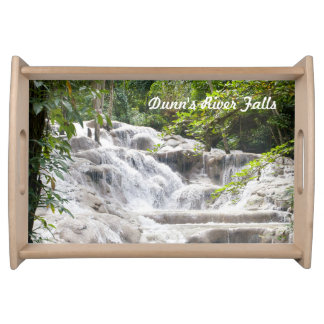 Dunn's River Falls photo Serving Trays