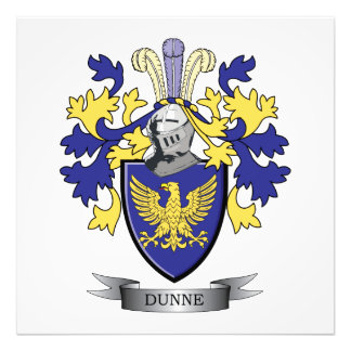Dunne Coat of Arms Photo Print