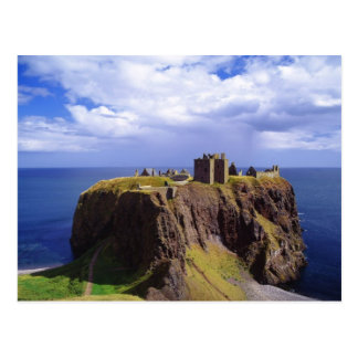 Dunnottar Castle in Britain Postcard