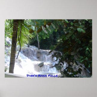Dunn's River Falls Poster