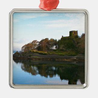 Dunollie Castle, Oban, Scotland Metal Ornament