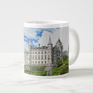 Dunrobin Castle  Seat of Clan Sutherland Large Coffee Mug