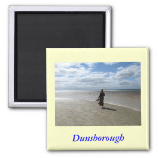 Dunsborough Beach Square Magnet