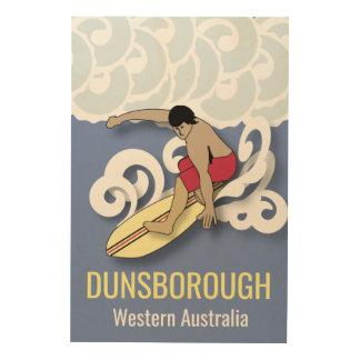 Dunsborough, Western Australia Wood Wall Art