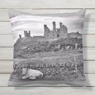 Dunstanburgh Castle Northumberland Cushion