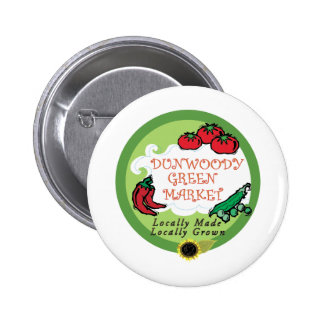 Dunwoody Green Market Pinback Button