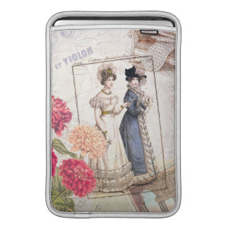Duo for Piano - Beautiful Ladies Vintage Fashions Sleeves For MacBook Air