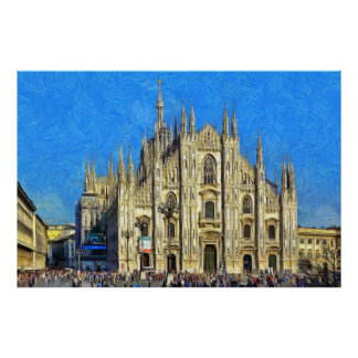 Duomo Cathedral Poster
