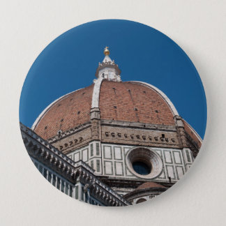 Duomo in Florence Italy 10 Cm Round Badge