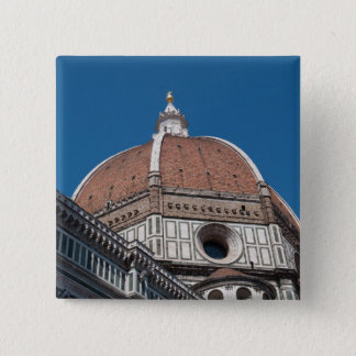Duomo in Florence Italy 15 Cm Square Badge