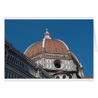 Duomo in Florence Italy Card