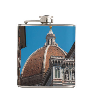 Duomo in Florence Italy Hip Flask