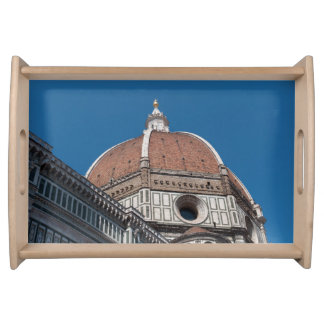 Duomo in Florence Italy Serving Tray
