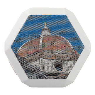 Duomo in Florence Italy White Bluetooth Speaker