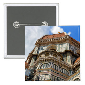 Duomo, in Florence, Tuscany, Italy 15 Cm Square Badge