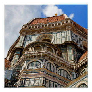Duomo, in Florence, Tuscany, Italy Poster
