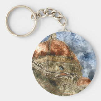 Duomo Santa Maria Del Fiore and Campanile Key Ring