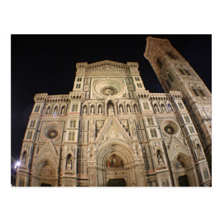 Duomo's Cathedral, Firenze Postcard