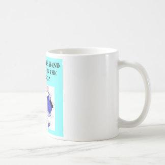 duplicate bridge game player basic white mug