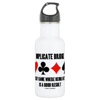 Duplicate Bridge Only Game Where Being Average 532 Ml Water Bottle