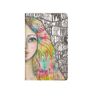 """""""Duplicity"""" Original Art Journal Notebook"""