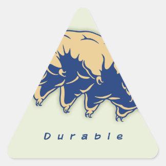 Durable - Tardigrade Triangle Sticker