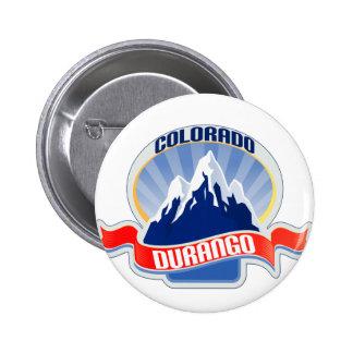 Durango Colorado 6 Cm Round Badge