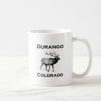 Durango Colorado Elk Coffee Mug