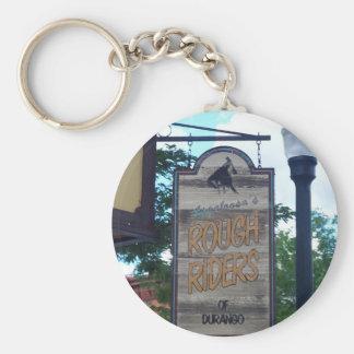 Durango Colorado Rough Riders Keychain