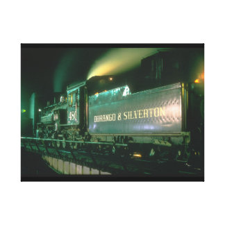 Durango & Silverton No_Steam Trains Canvas Print