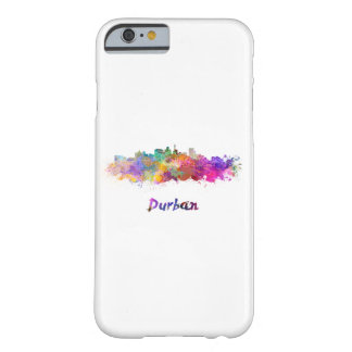 Durban skyline in watercolor barely there iPhone 6 case