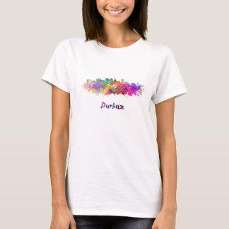 Durban skyline in watercolor T-Shirt