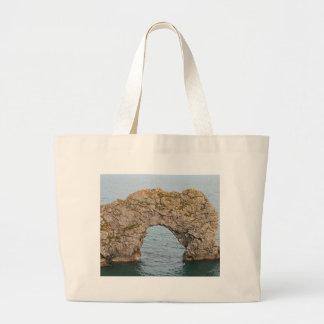 Durdle Door Arch, Dorset, England 2 Large Tote Bag