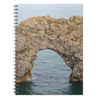 Durdle Door Arch, Dorset, England 2 Notebook