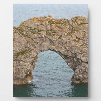 Durdle Door Arch, Dorset, England 2 Plaque