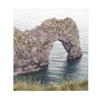 Durdle Door Arch, Dorset, England Notepad